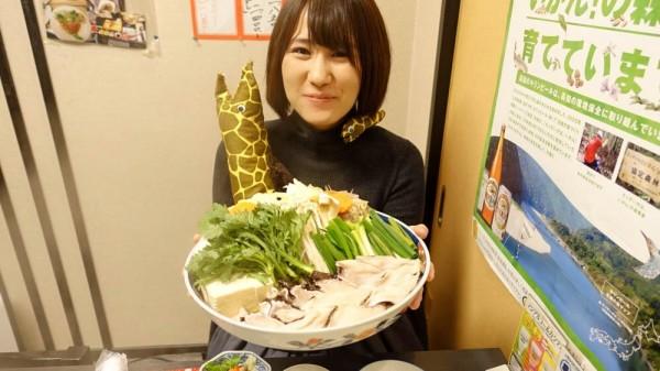 うつぼのすき焼き(一人2100円) ※うつぼ姫は付属しません。