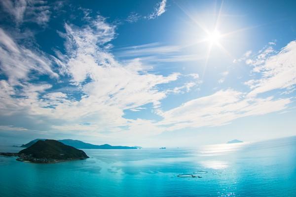 柏島 海 エメラルドグリーン