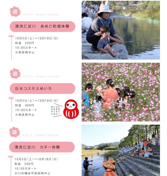 高知県 越知町 コスモスまつり 秋の行楽 越知町観光協会