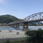 夏は仁淀川で遊ぼう!網で手長エビを捕まえてきたよ。